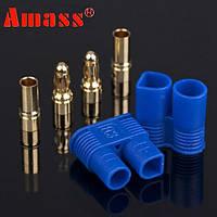 Amass ec3 Разъем 1 пара с 3.5 мм штекер