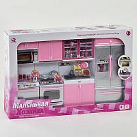 Кухня для кукол (большая), музыкальная, со светом, в коробке (ОПТОМ) 26211 PR