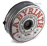 """Капельная лента (щелевая) 8 mill-10,15,20,30,45 см (500 м) """"Labyrinth"""", фото 1"""