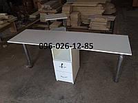 """Маникюрный стол """"Дуэт"""" стол для двух мастеров"""