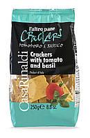 Крекер с томатами и базиликом 250г Casa Rinaldi