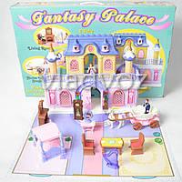 Игрушечный волшебный детский замок кукольный домик Принцессы карета мебель Keenway