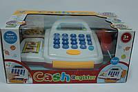Кассовый аппарат, на батарейках, сканер, карточка, калькулятор