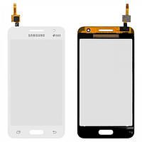 Сенсор (тачскрин) для Samsung G355H Galaxy Core 2 Duos белый