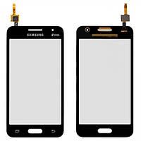 Сенсор (тачскрин) для Samsung G355H Galaxy Core 2 Duos серый