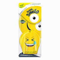 Запахи Natural Fresh Эликс FRESH SMILE Hilarious Black бумажный смайл
