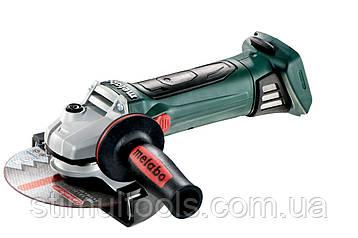 Аккумуляторная угловая шлифмашина (болгарка) Metabo W 18 LTX 150 QUICK, Каркас
