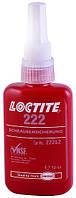 Фиксатор резьбы низкой прочности Loctite 222 (Локтайт 222), до М36, до 150 °C, 50 мл