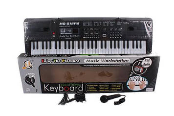 Орган на 61 клавишу MQ-012FM (от сети, с микрофоном, FM радио)