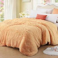 """Одеяла с длинным ворсом """"Мишка"""""""
