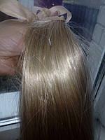 хвост на ленте #2 меллированный блондин