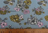 Джинсовая ткань рубашечная (свет.синий)
