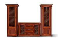 """Комплект мебели для гостиной """"Фридом"""" с комодом (орех с патиной), фото 1"""
