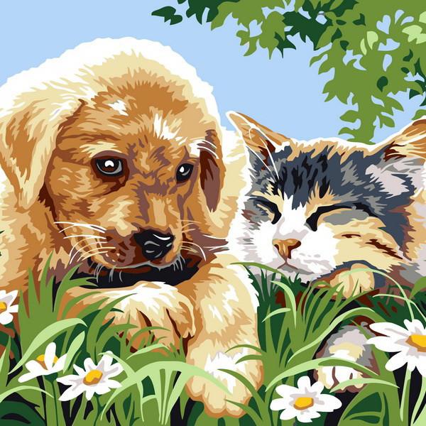 Картины по номерам для детей — купить раскраски для детей ...