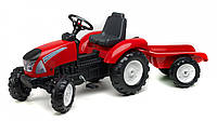 Трактор педальный Falk 3021AB с прицепом (3-7)