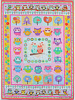 Детское одеяло-покрывало «Совушки», Loskutini