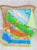 Детское одеяло-покрывало «В мире животных», Loskutini