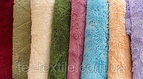 """Одеяло с длинным ворсом """"Мишка"""" персиковое (210х230), фото 3"""