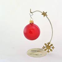 Новогодняя игрушка Шар D60 ГЛ.КРАС