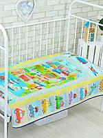 Детское одеяло-покрывало «Городок», Loskutini