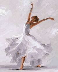 Картина по номерам DIY Babylon Белый танец (VP791) 40 х 50 см