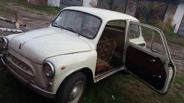 Реставрация ЗАЗ 965А.