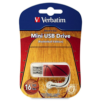 Флеш-драйв VERBATIM USB Drive 8Gb STORE'N'GO MINI BASKETBALL 98507