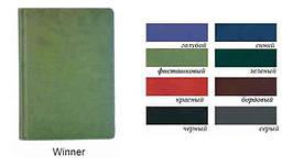 Діловий щоденник Winner недатований, сірий, А6