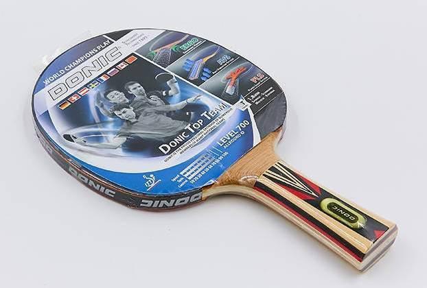 Ракетка для настільного тенісу 1 штука DONIC LEVEL 700 МТ-754194 TOPTEAM 6cd9d7dc86fd8