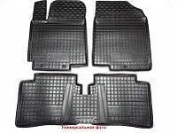 Полиуретановые коврики в салон Volkswagen T5 Multivan (второй ряд) с 2003-