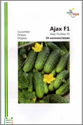 Семена огурцов Аякс F1 20 шт, Империя семян, фото 2