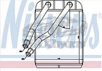 Радиатор печки салона AUDI/ PORSCHE/ VW Nissens 73975