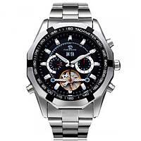 Мужские часы Forsining 1047 Silver