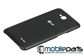 Задняя панель корпуса (Крышка) для LG D325 Optimus L70 Dual Sim (Серая)