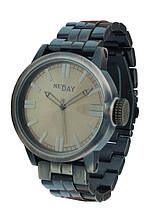 Часы мужские круглые на браслете