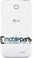 Задняя панель корпуса (Крышка) для LG D410 Optimus L90 Dual Sim (Белая)