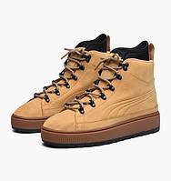 Оригинальные кроссовки Puma The Ren Boot NBK Beige / Black