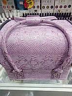 Чемодан текстурный фиолетовый