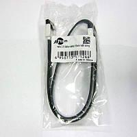 Кабель  интерфейса AT-com  SATA-DATA 3.0 cable  50см,с застежкой