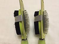 Расческа-щетка для шерсти 2 в 1 7x24,5 см Croci для собак и кошек