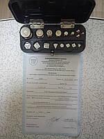 Гири комплект  Г4-211,10 (класс 4 ГОСТ7328-82) поверены в УкрЦСМ