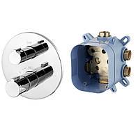 Смеситель термостат для ванны Imprese CENTRUM VRB-15400Z скрытый монтаж
