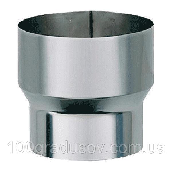 Переходник на трубу нерж (Ø100-300мм ≠1мм)