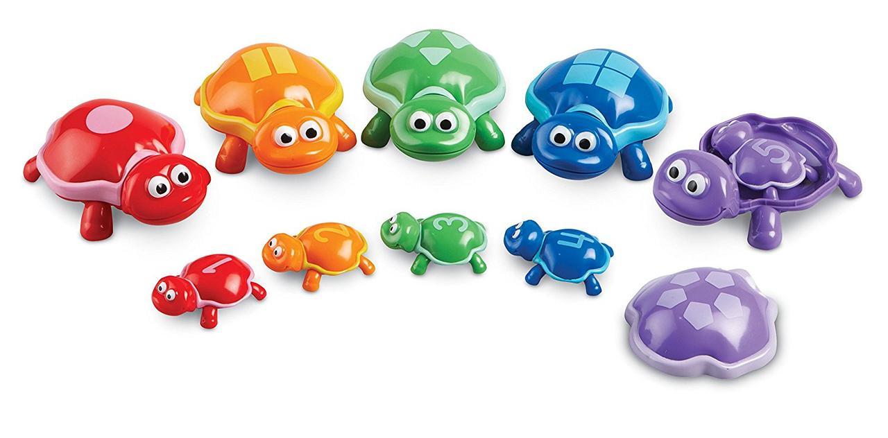 """Развивающая игра """"Забавные черепашки"""" от Learning resoucres"""