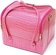 Кейс Крокодил розовый