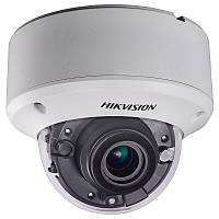 Купольная HD-TVI видеокамера Hikvision DS-2CE56H1T-ITZ, 5 Мп