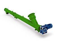 Шнековый питатель для цемента 108мм, 4т/час, 1,5кВт, 2м
