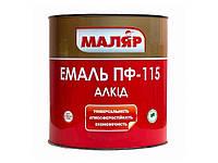Емаль ПФ115 червона (0,8кг) ТММаляр