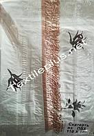 Скатерть клеенка с бахрамой
