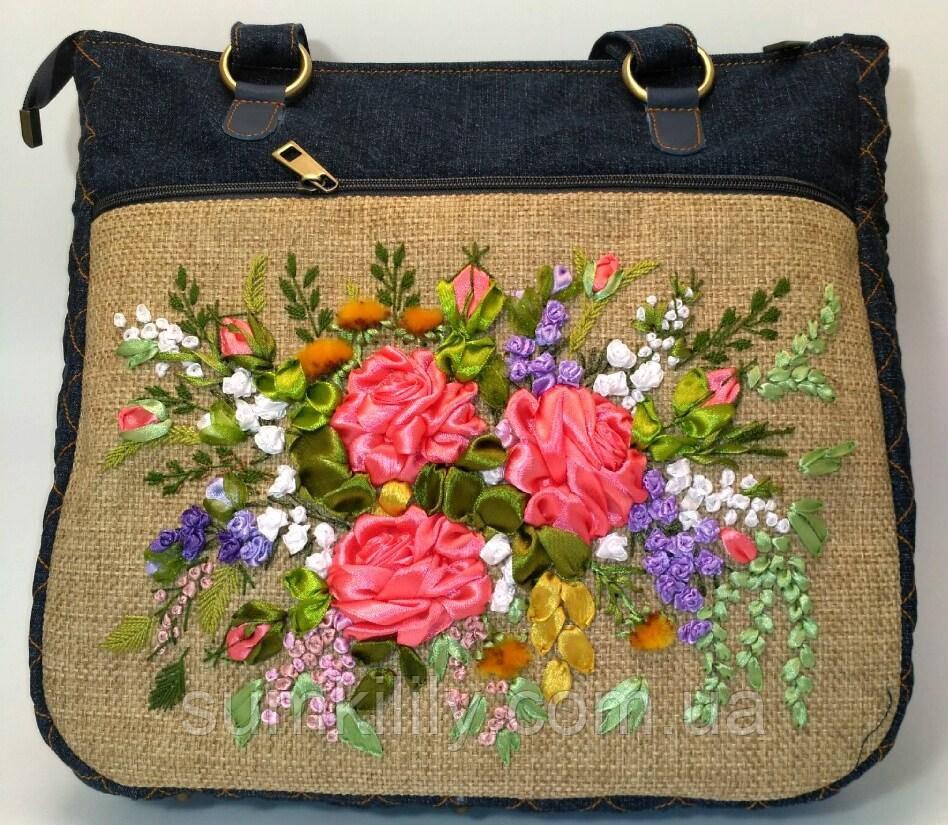 Женская сумка саквояж Жанна
